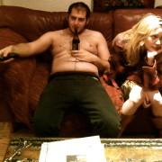 TV pareja