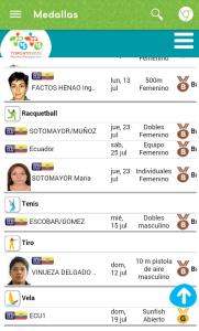 medallas 5