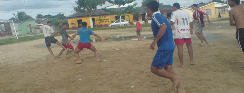 futbol barrio