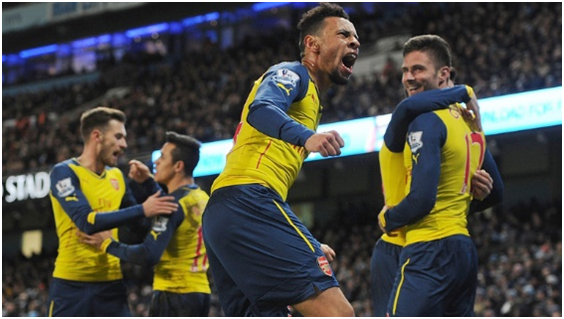Francis Coquelin se perfila como futuro capitán del Arsenal