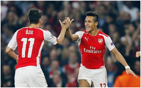 Mesut Özil y Alexis Sánchez: la esperanza gunner
