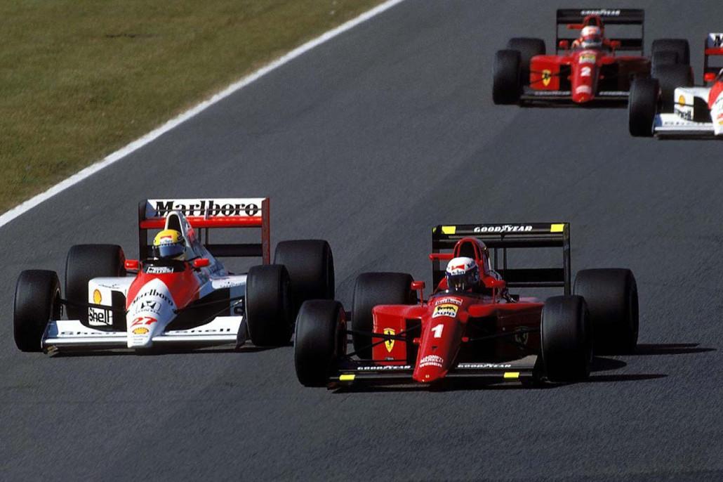 01-Ayrton-Senna-McLaren-27-y-Alain-Prost-Ferrari-1