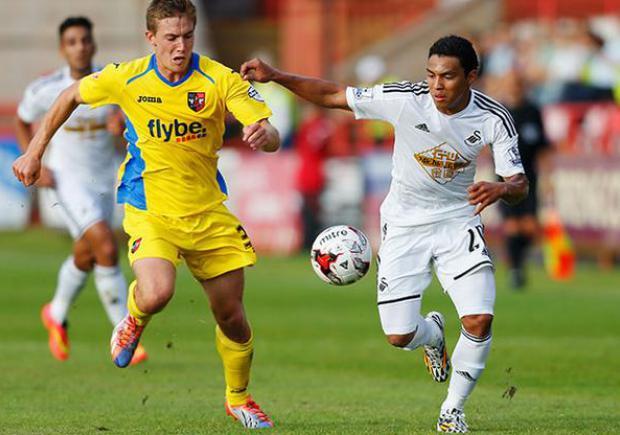 Jeff eleva poco a poco su juego con el Swansea. (Bendito Fútbol)