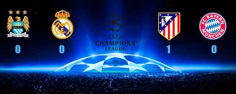 semis champions league