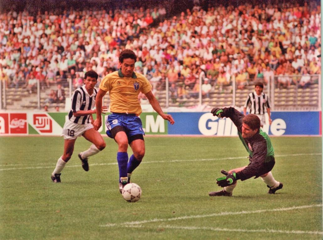 La Selección Nacional de Costa Rica en la Copa Italia 90 fue la más exitosa según el exjugador Domingueña Bolaños. En la gráfica el portero de Costa Rica Luis gabelo Conejo Foto Juan Carlos Ulate