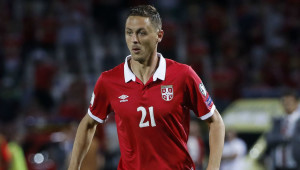 BELGRADE, SERBIA - JUNE 11: Nemanja Matic of Serbia in action during the FIFA 2018 World Cup Qualifier between Serbia and Wales at stadium Rajko Mitic on June 11, 2017 in Belgrade, Serbia. (Photo by Srdjan Stevanovic/Getty Images)
