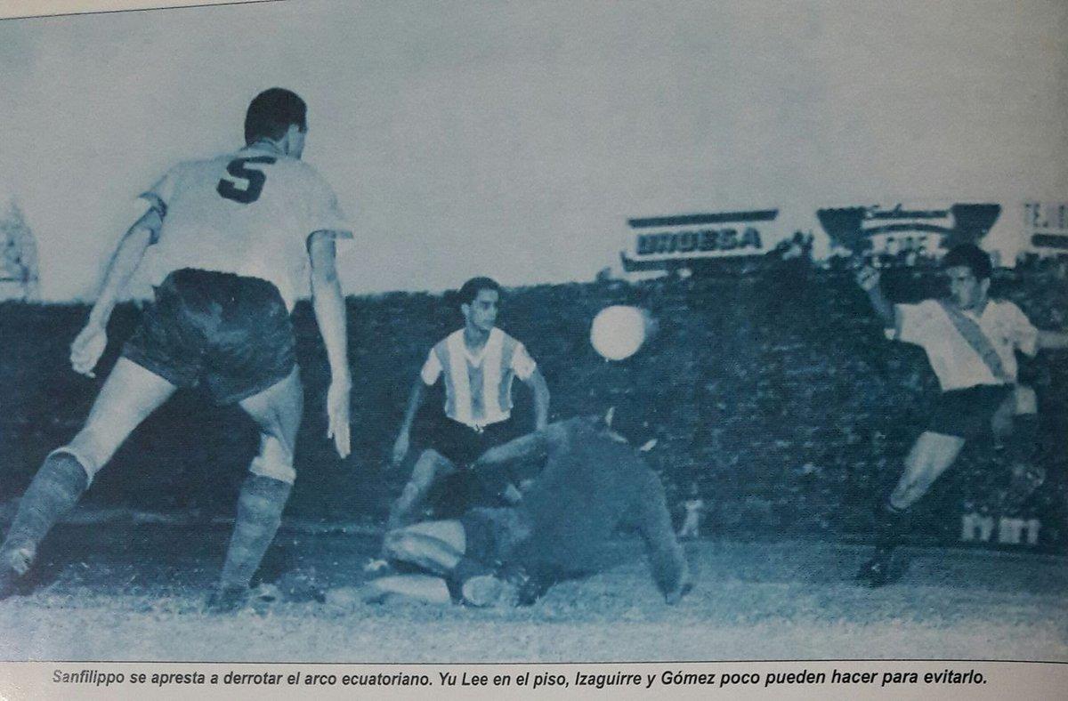 ecuador vs argentina 1960