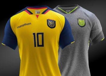 La nueva camiseta ecuatoriana