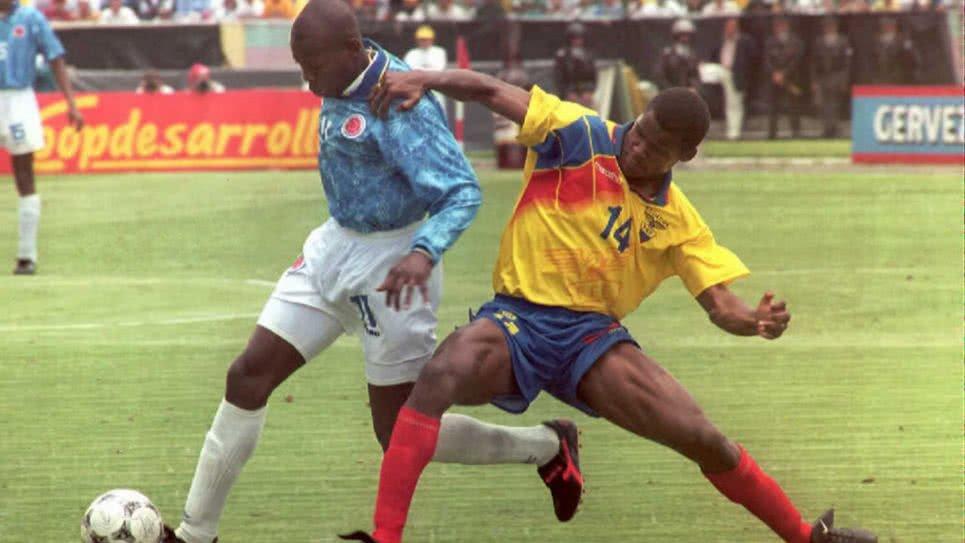 ecuador vs colombia 1996