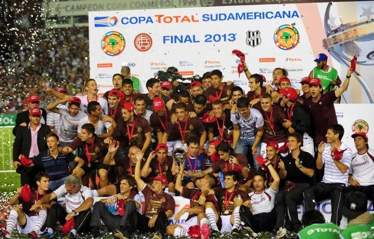 lanus sudamericana 2013