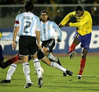 argentina ecuador 2004