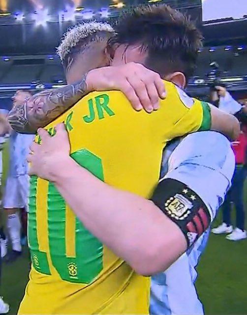 neymar y Messi