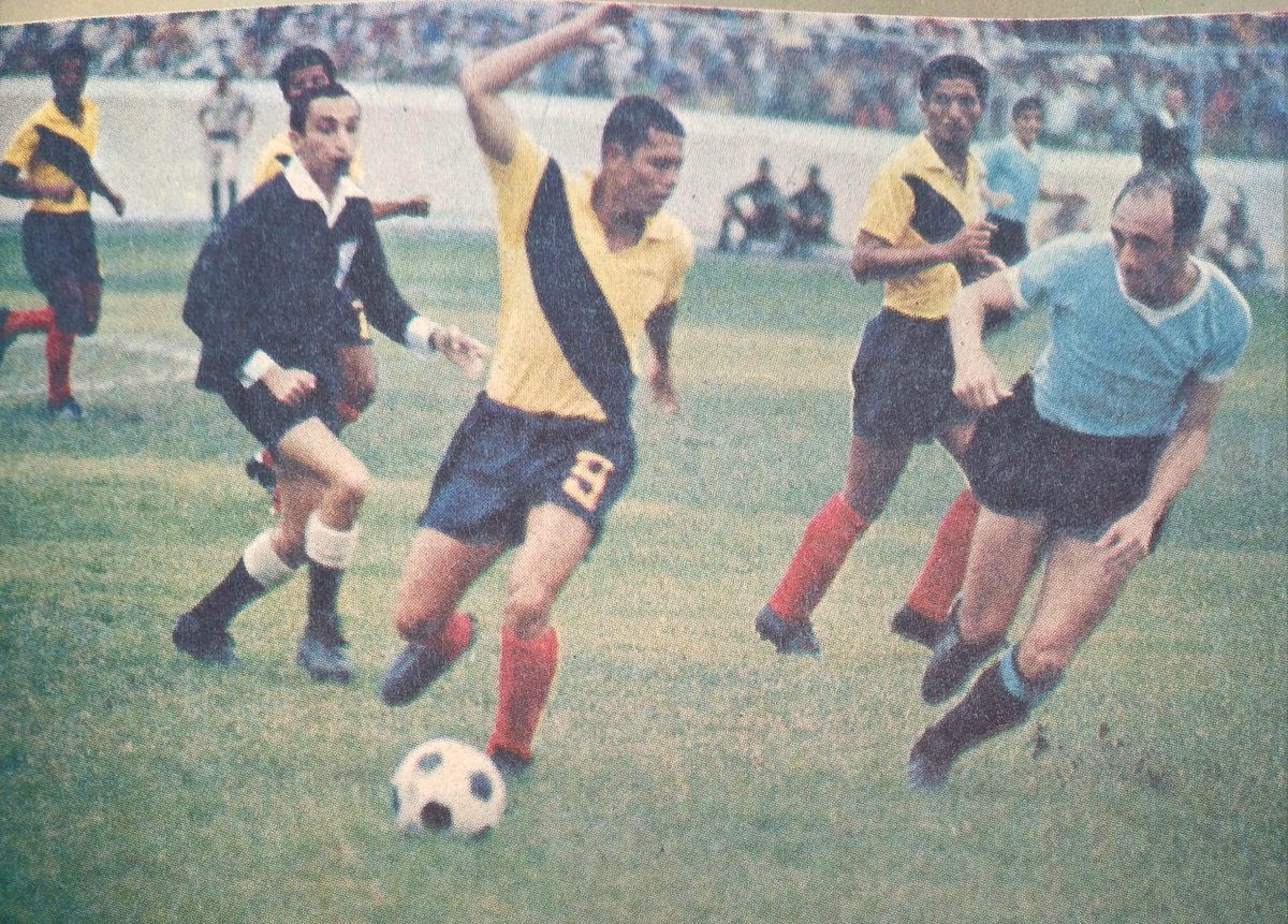 Uruguay Ecuador 1969